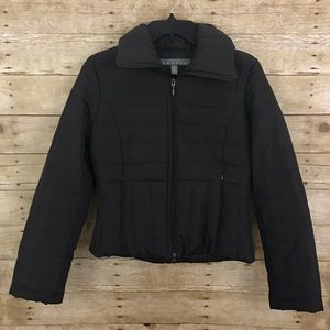 Kenneth Cole Women's Brown Puffer Jacket